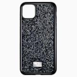 Etui na smartfona Glam Rock, iPhone® 11 Pro Max, czarne - Swarovski, 5531153