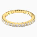 Vittore Ring, White, Gold-tone plated - Swarovski, 5531163