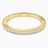 Vittore 戒指, 白色, 鍍金色色調 - Swarovski, 5531164