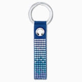 Porte-clés Anniversary, bleu, acier inoxydable - Swarovski, 5533070