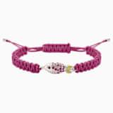 Braccialetto Mustique Sea Life Fish, rosa, placcato palladio - Swarovski, 5533758