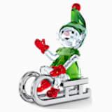 Santa's Elf on Sleigh - Swarovski, 5533947