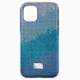 Etui na smartfona Crystalgram z ramką chroniącą przed uderzeniem, iPhone® 11 Pro, niebieskie - Swarovski, 5533958