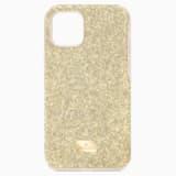 Etui na smartfona High z ramką chroniącą przed uderzeniem, iPhone® 11 Pro, w odcieniu złota - Swarovski, 5533961