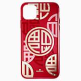 Full Blessing Fu 智能手機防震保護套, iPhone® 11 Pro Max, 紅色 - Swarovski, 5533964