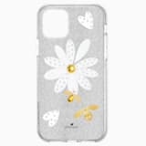 Eternal Flower Smartphone Case with Bumper, iPhone® 11 Pro, Light multi-colored - Swarovski, 5533968