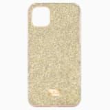 Pouzdro na chytrý telefon High s ochranným okrajem, iPhone® 11 Pro Max, zlaté - Swarovski, 5533970