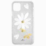 Coque rigide pour smartphone avec cadre amortisseur Eternal Flower, iPhone® 11 Pro Max, multicolore clair - Swarovski, 5533980