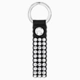 Llavero Swarovski Power Collection, negro, acero inoxidable - Swarovski, 5534018