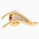 Broche Gilded Treasures, blanc, métal doré - Swarovski, 5534503