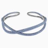 Naszyjnik typu choker z kolekcji Tigris, niebieski, powlekany rutenem - Swarovski, 5534519