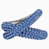 Prsten Tigris, modrý, pokovený rutheniem - Swarovski, 5534525