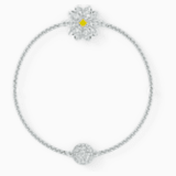 Swarovski Remix Collection Flower Strand, 白色, 鍍白金色 - Swarovski, 5535252