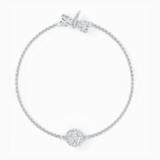 Strand Swarovski Remix Collection Dragonfly, blanc, métal rhodié - Swarovski, 5535334