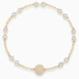 Carrier Swarovski Remix Collection, bianco, placcato color oro - Swarovski, 5535353