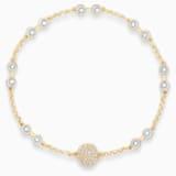 Swarovski Remix Collection Carrier, Белый Кристалл, Покрытие оттенка золота - Swarovski, 5535353