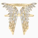 Wonder Woman Kelepçe, Altın Rengi, Altın rengi kaplama - Swarovski, 5535588