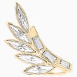 Wonder Woman Armour gyűrű, fehér, arany árnyalatú bevonattal - Swarovski, 5535605