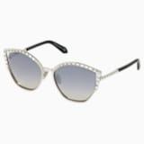 Fluid Солнцезащитные очки, SK0274-P-H 16C, Серый Кристалл - Swarovski, 5535795