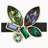 Bamboo Bracelet, Dark multi-coloured, Gold-tone plated - Swarovski, 5535888