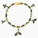 Strand Bamboo, multicolore sombre, métal doré - Swarovski, 5535894
