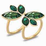 Bague Beautiful Earth by Susan Rockefeller, vert, métal doré - Swarovski, 5535898
