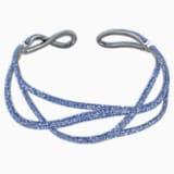 Tigris Statement Choker, Blue, Ruthenium plated - Swarovski, 5535902