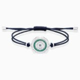 Sand 手链, 蓝色, 不锈钢 - Swarovski, 5535910