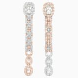 Eternal Ohrringe, weiss, Metallmix - Swarovski, 5536596