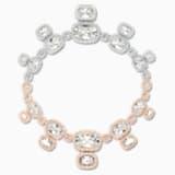 Collar Eternal, blanco, combinación de acabados metálicos - Swarovski, 5536602