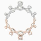 Eternal 项链, 白色, 多种金属润饰 - Swarovski, 5536602