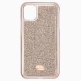 Glam Rock 스마트폰 범퍼 케이스, iPhone® 11 Pro Max, 로즈골드 톤 - Swarovski, 5536651