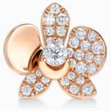 闪耀如兰18K金玫瑰金钻石链坠 - Swarovski, 5538155