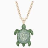 Mustique Sea Life Turtle ペンダント - Swarovski, 5538454