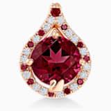 18K RG Freshness Dew Pendant (Blazing Red) - Swarovski, 5538905