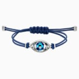 Braccialetto Swarovski Power Collection Evil Eye, azzurro, acciaio inossidabile - Swarovski, 5551804