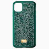 Glam Rock Чехол для смартфона с противоударной защитой, iPhone® 11 Pro Max, Зеленый Кристалл - Swarovski, 5552654