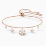 Bracelet Magic, blanc, métal doré rose - Swarovski, 5558186