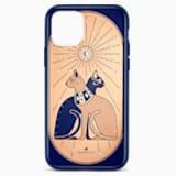 Θήκη για smartphone Theatrical Cat με προστατευτικό, iPhone® 11 Pro, πολύχρωμη - Swarovski, 5558999