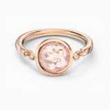 Tahlia Ring, Pink, Rose-gold tone plated - Swarovski, 5560948
