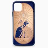 Θήκη για smartphone Theatrical Cat με προστατευτικό, iPhone® 11 Pro Max, πολύχρωμη - Swarovski, 5566446