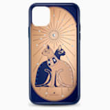 Theatrical Cat Smartphone Case with Bumper, iPhone® 11 Pro Max - Swarovski, 5566446