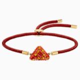 Braccialetto Swarovski Power Collection Fire Element, rosso, placcato color oro - Swarovski, 5568269
