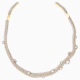 Gargantilla Tigris, tono dorado, baño tono oro - Swarovski, 5569140