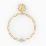 The Elements Star Bracelet, White, Gold-tone plated - Swarovski, 5569181