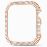 Funda compatible con Apple Watch ® 44mm Sparkling, tono oro rosa - Swarovski, 5572423