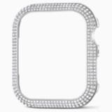 44 mm Sparkling horlogekast compatibel met Apple Watch®, Zilverkleurig - Swarovski, 5572426