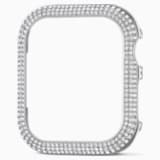 40 mm Sparkling Case compatible with Apple Watch®, Silver tone - Swarovski, 5572573