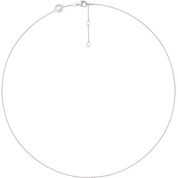 18K WG Venus Plain Chain - Swarovski, 5104095