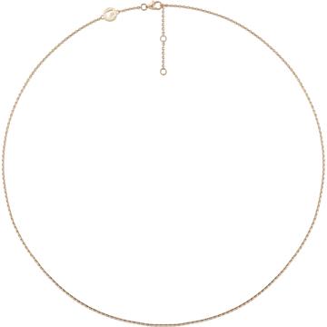 18K YG Venus Plain Chain - Swarovski, 5230127